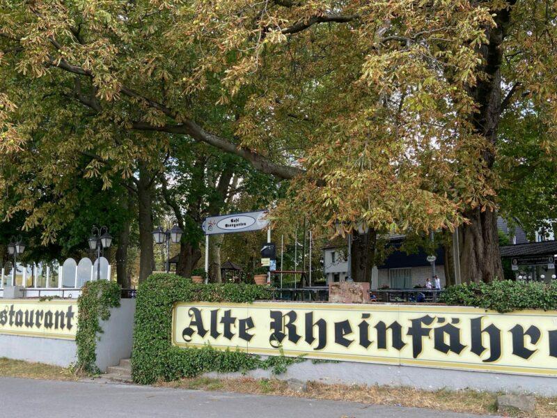 Alte Rheinfähre
