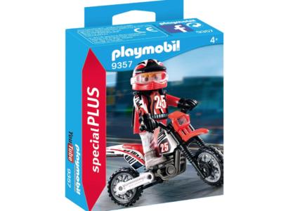 Playmobil Motorradfahrer