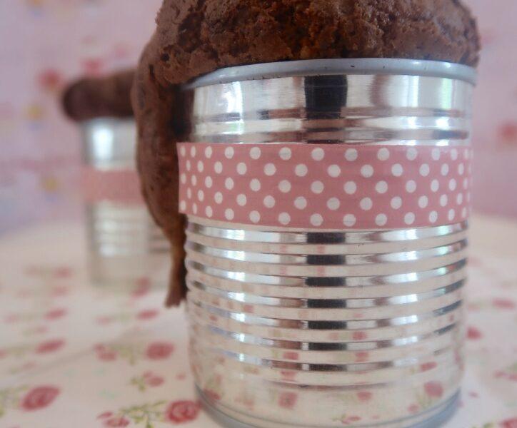 Kleine Kuchen aus der Dosen