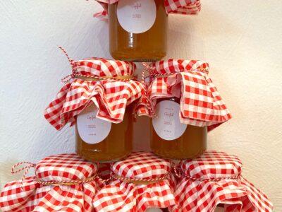Apfelmarmelade für Kinder
