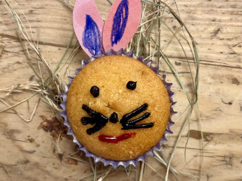 Osterhasen-Muffins