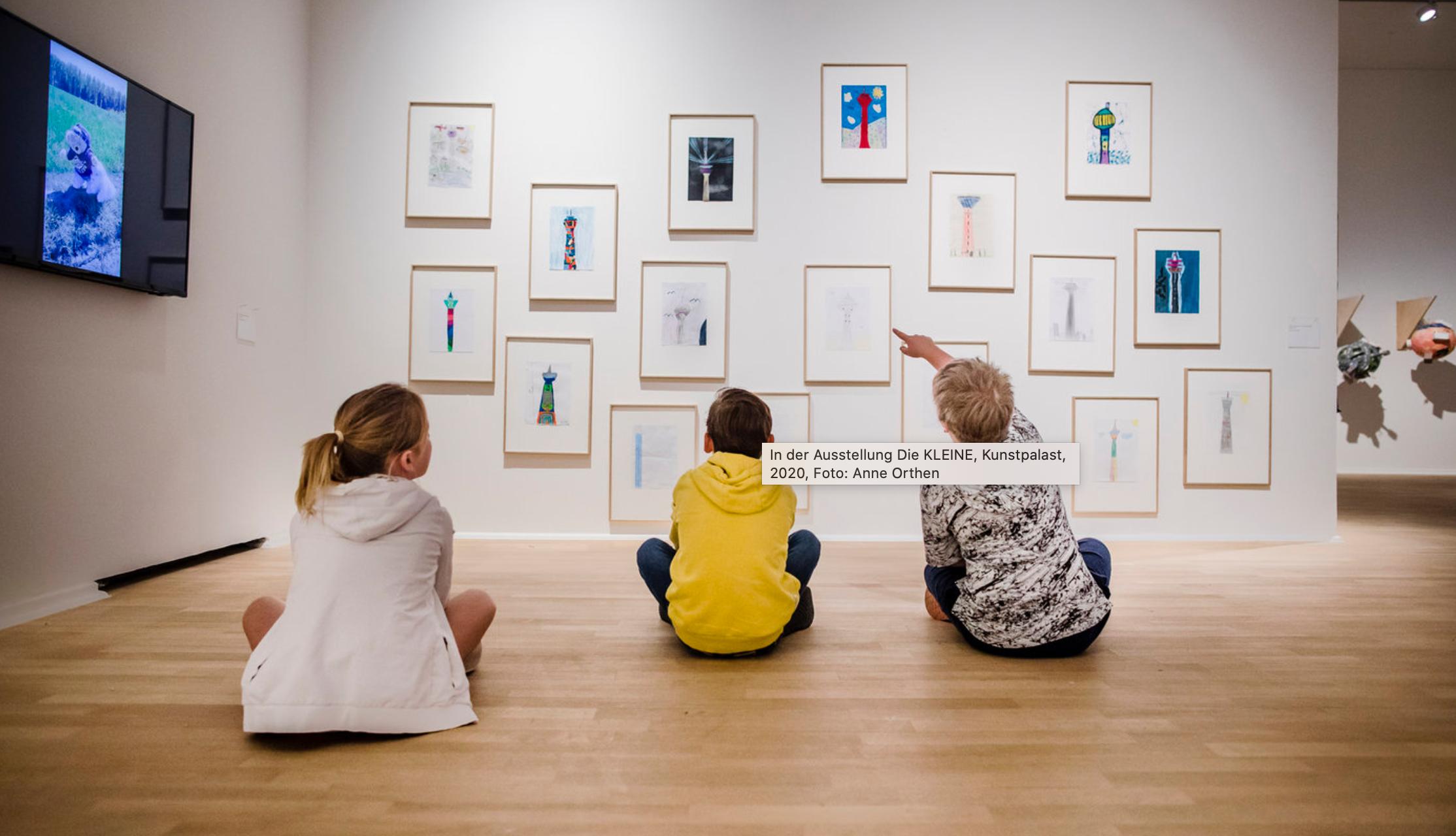 Ausstellungseröffnung Die Kleine