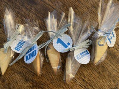 Schultüten-Kekse zur Einschulung